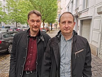 Michael Krejčí (vlevo) a Tomáš Černý, Aligator