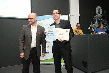 Pavel Fidrmuc s třetí cenou pro iDnes.