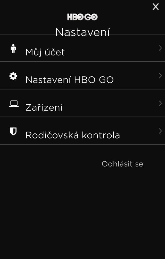 HBO GO (2017) - nová aplikace pro Android