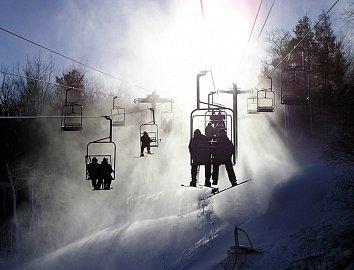 lyžování lanovka