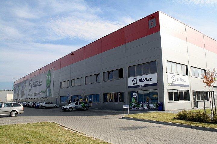 Nové logistické centrum Alza.cz v Horních Počernicích