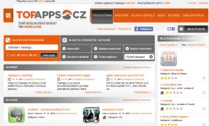 TopApps.cz - první český katalog aplikací  pro iPhone a iPad