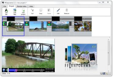 ffDiaporama - snadná tvorba videa z vlastních fotek