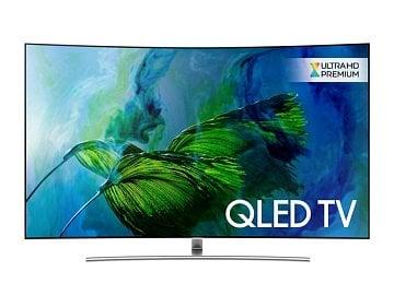 Televizor Samsung QLED pro rok 2017. Ceny startují na 59 990 Kč za úhlopříčku 124 cm (Samsung QE49Q7F).
