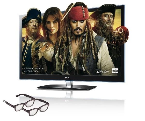 Piráti z Karibiku: Na Vlnách podivna ve 3D