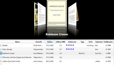 <p>Listování mezi knihami ve 3D prostředí</p>