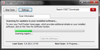 Pomocí CNET TechTracker zajistíte nejnovější aktualizace aplikací
