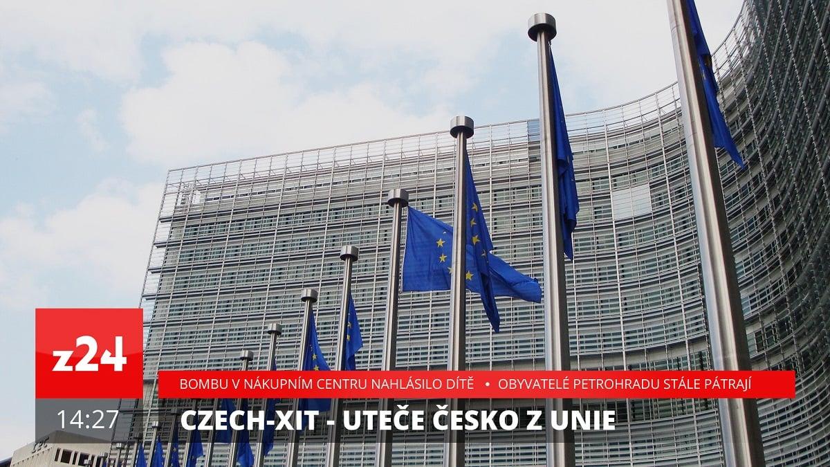 Grafika zpravodajské stanice Z24