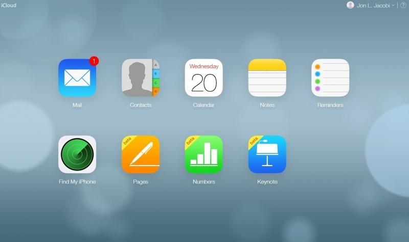 Pracujete-li se zařízením Apple, pak získáte data pouze přes iCloud