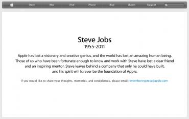 Steve Jobs zemřel
