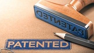 Patent patentováno patented