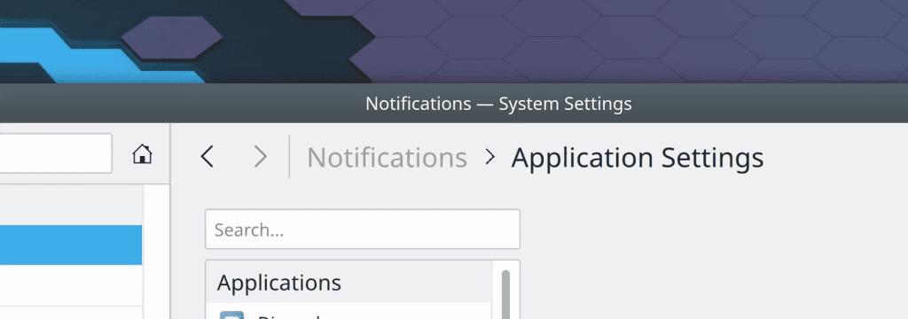 KDE v září 2020