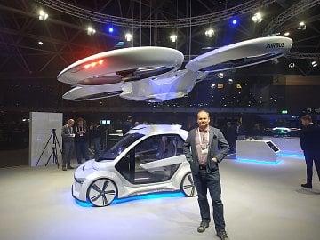 Airbus pracuje na několika verzích dronů pro přepravu osob současně