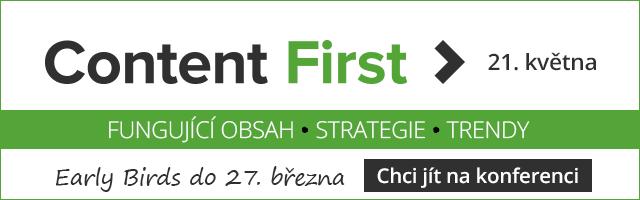 Content First tip v článku 2019