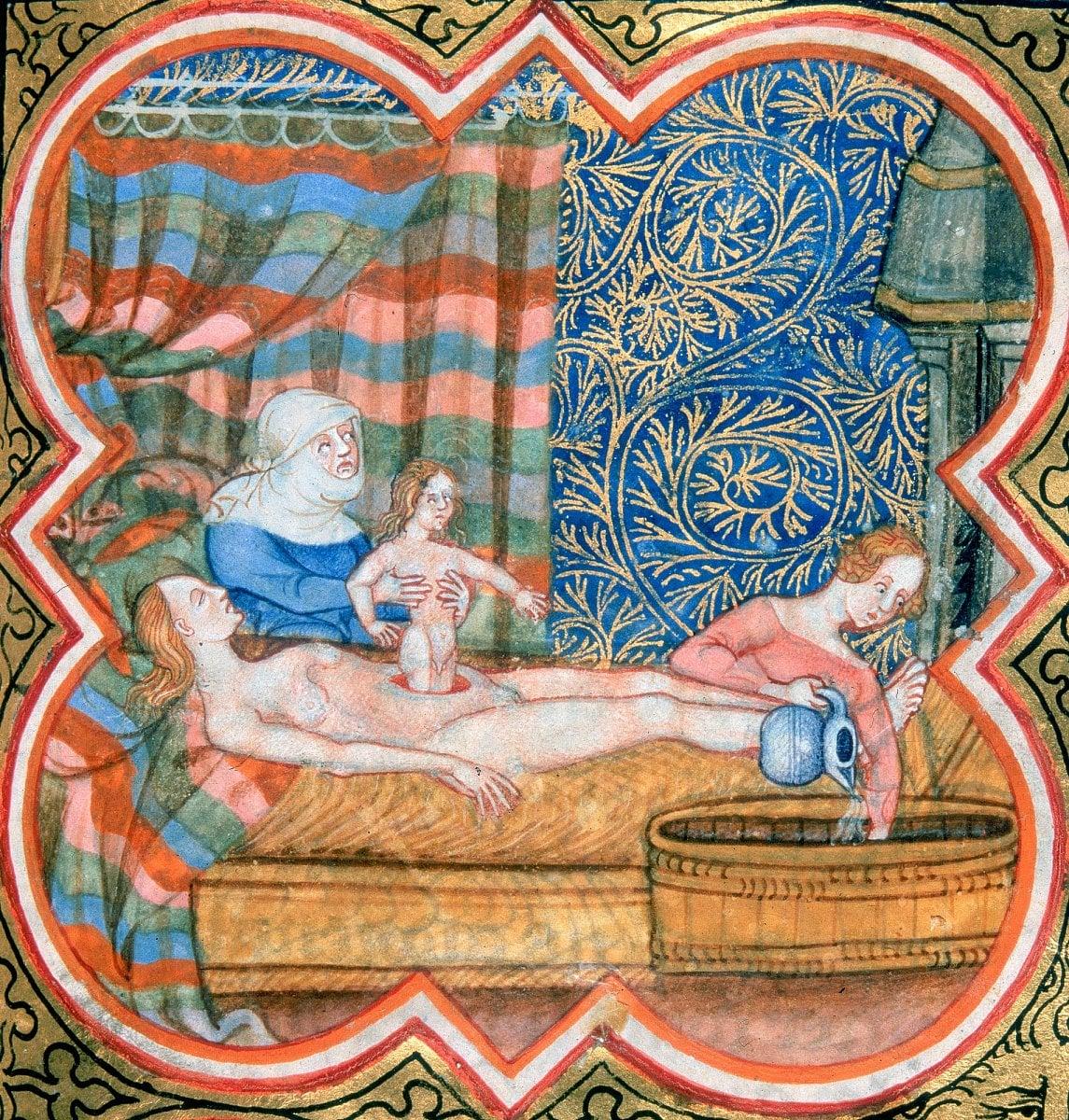 Historie porodnictví