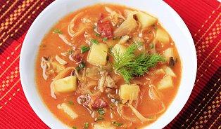 Zelňačka– tradiční polévka pro sychravé dny