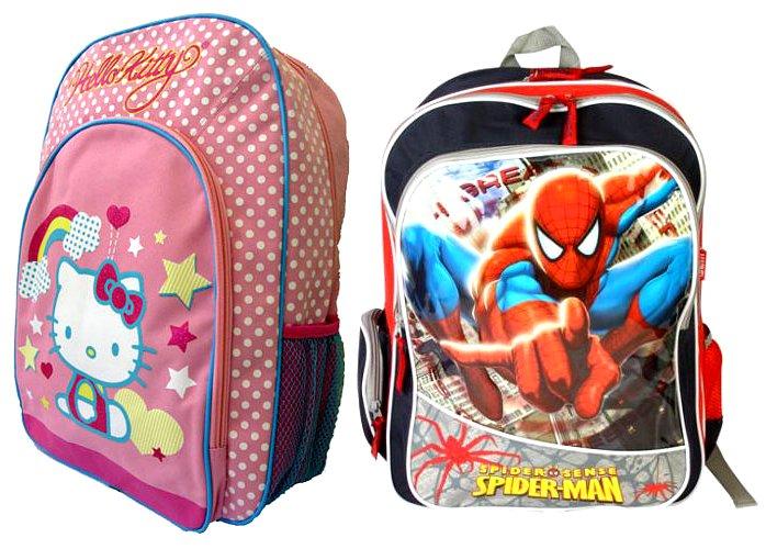 7868851def5 Děti včetně nejmenších školáků často dávají přednost batohům a rodiče se  jich nemusí bát
