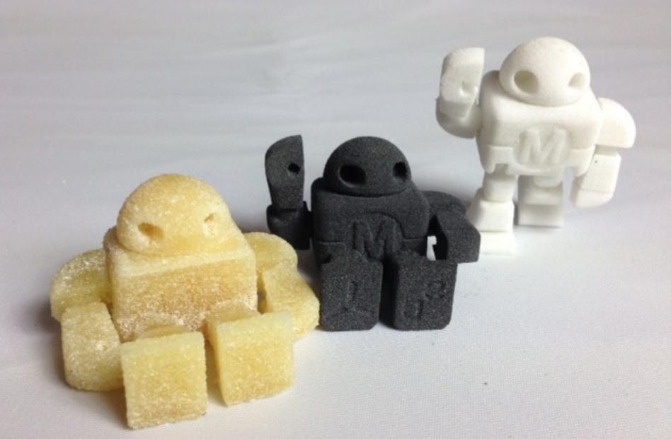 3D tisk z cukru