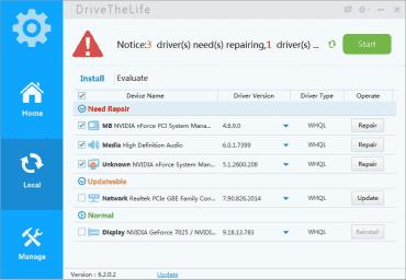 <p>DriveTheLife začátečníkům pomůže s instalací všech důležitých ovladačů</p>