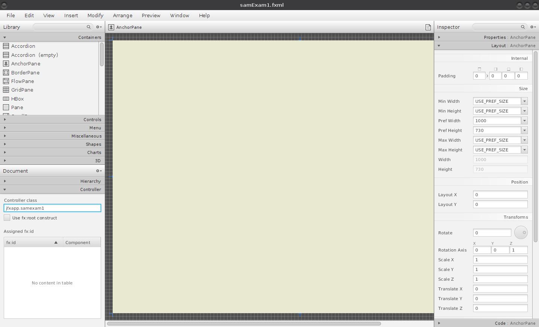 JavaFX: otevření nového okna