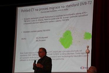 Pohled České televize na migraci k DVB-T2.