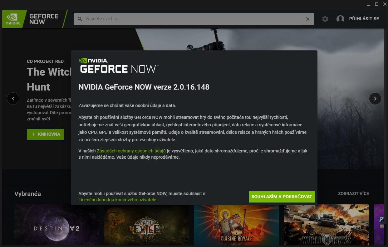 GeForce NOW - jak se streamují hry z cloudu NVIDIA