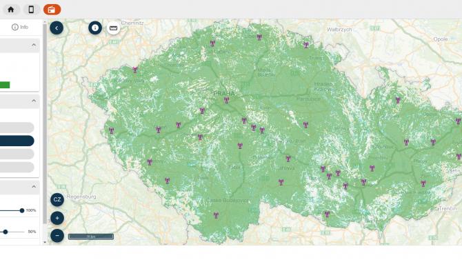 [aktualita] ČTÚ aktualizoval mapový portál s pokrytím digitálního rozhlasového vysílání