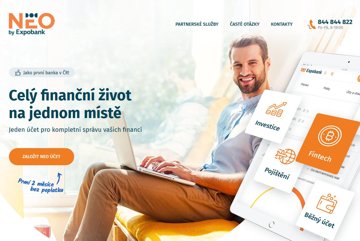 NEO účet Expobank