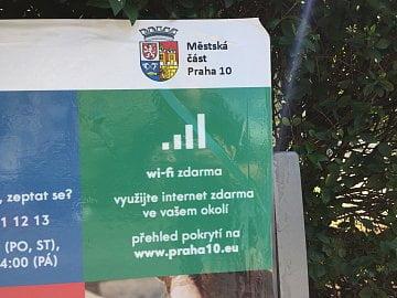 Wi-Fi zdarma na Praze 10