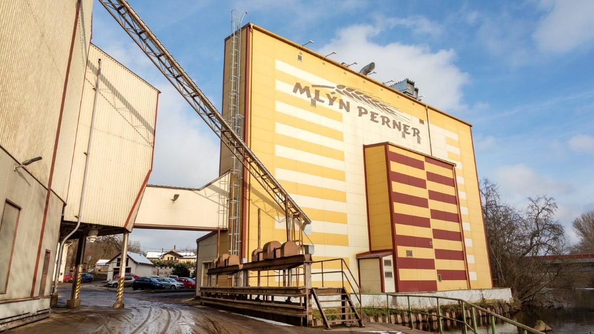 Mlýn Perner: továrna na mouku