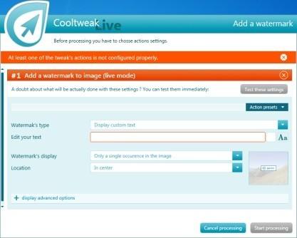Pomocí CoolTweak můžete upravovat obrázky jedním kliknutím z kontextového menu