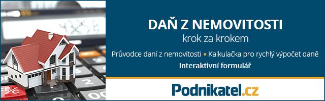 Daň z nemovitosti tip Podnikatel.cz