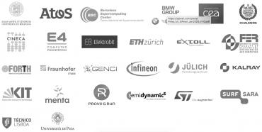 Seznam aktuálních partnerů European Processor Initiative