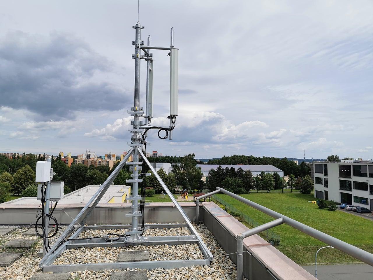 Privátní 5G síť na Vysoké škole báňské v Ostravě