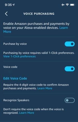 Nastavením čtyřciferného kódu můžete zabránit tomu, aby pomocí Alexy nakupoval na Amazonu kdokoliv, komu se právě zamane.