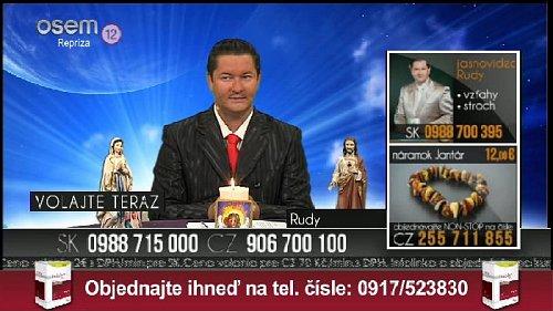 Ukázka z vysílání slovenské stanice TV Osem