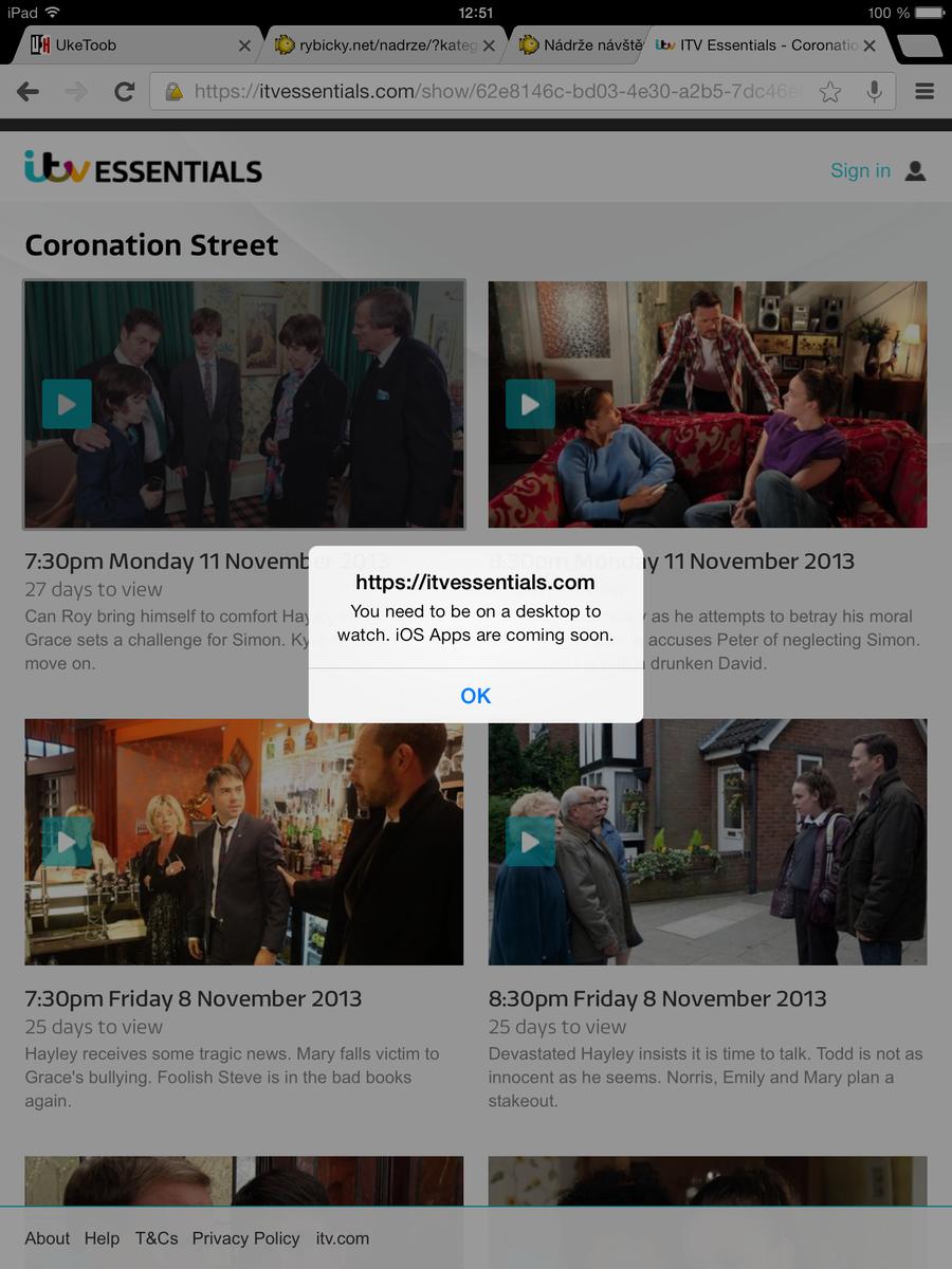 ITV Essentials - nová VOD služba britské ITV