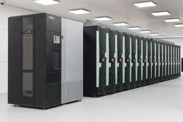 Ostravský superpočítač Salomon.