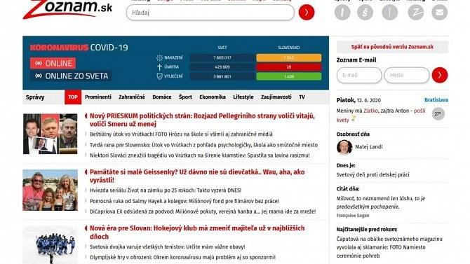 [aktualita] Slovenský Zoznam změnil majitele, Slovak Telekom prodal celý svůj podíl