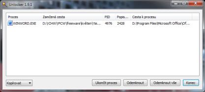 Pomocí Unlockeru zvítězíte nad nepřístupnými soubory