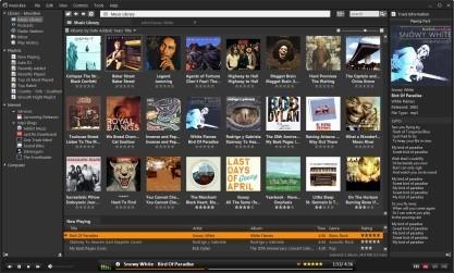 MusicBee je výkonný hudební prohlížeč s pokročilou knihovnou médií