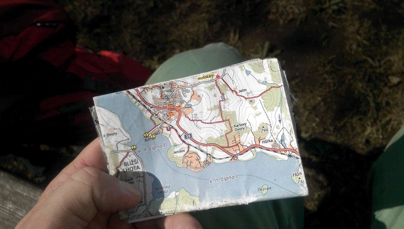 Digitální kartografie na vlastní nohy
