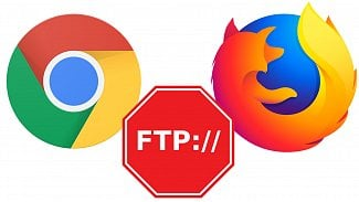 Root.cz: Chrome a Firefox chtějí skončit s FTP