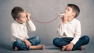Děti telefon