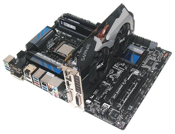 Gigabyte Z87 + Sapphire Radeon HD 7790