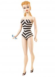Barbie, model 1959