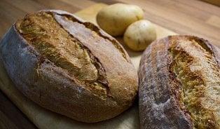 Bramborový chléb je chleba sbramborovou kaší