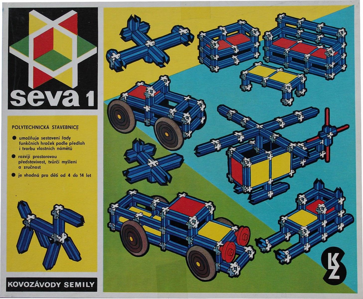 Historie stavebnice SEVA od roku 1979