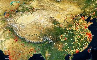 Počítání čínské ekonomiky ve Spaceknow.