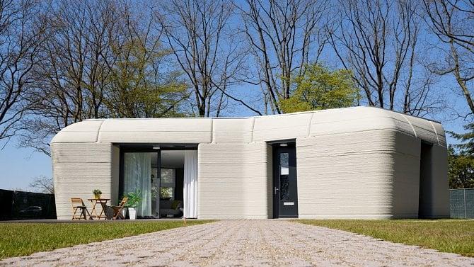 [aktualita] První evropský dům z 3D tiskárny má své obyvatele, jde o nizozemský pár